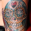 Sugar Skull on Alex