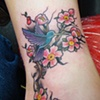 Lindsay's blossoms and birdy