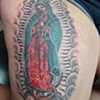 Kristina's Mary of Guadalupe in Progress