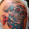 Bo's Cowboy Skull Cover-Up