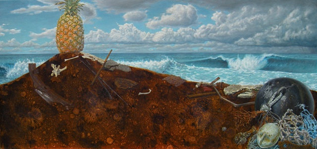 rust, still life, seascape, peter shepard cole