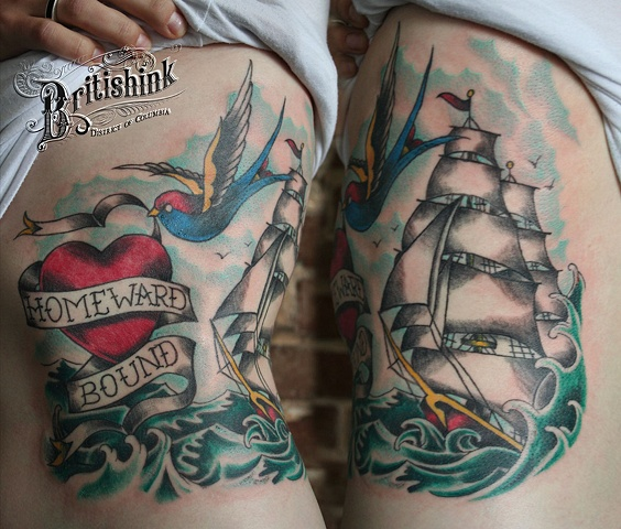 Homeward Bound Rib Piece