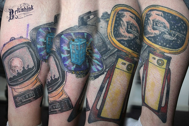 Sci-Fi TV Leg Sleeve