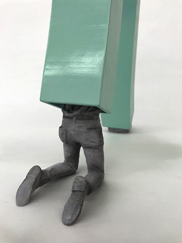 brian zimmermn, bryan, 3d print, guy with legs in sculpture, people in vent, art, printing, 3d scanning