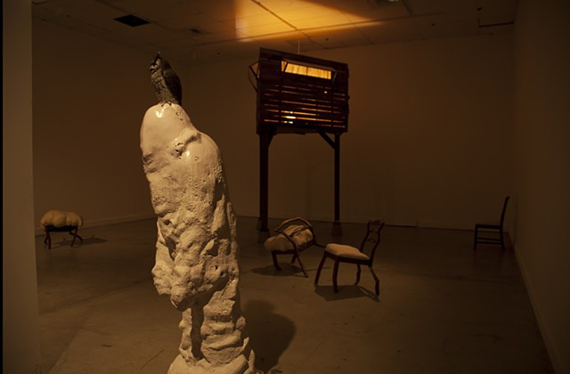 brian zimmerman, bryan, art, wood, sculpture, las vegas, st. louis, ucsd, webster, university, collage, chairs, tower
