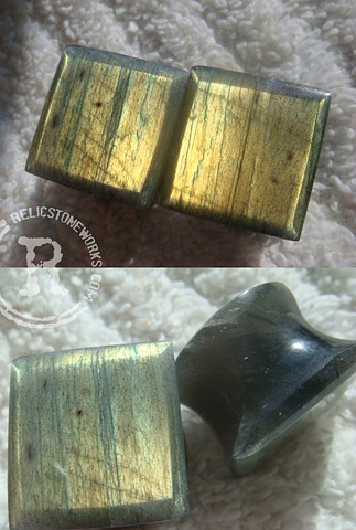 "5/8"" Labradorite Facets"
