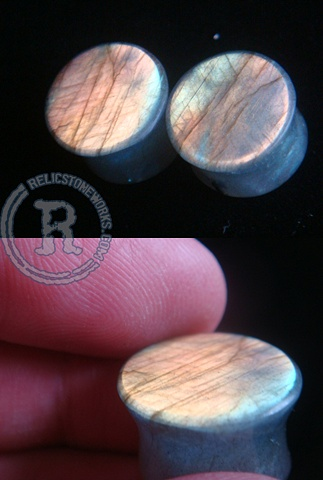 "5/8"" Labradorite Large Face"