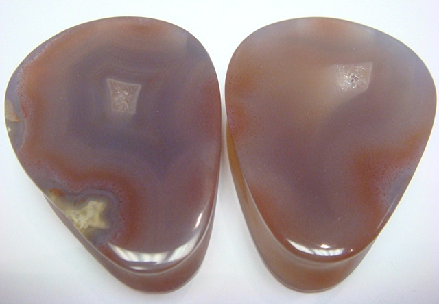 Purple condor Agate