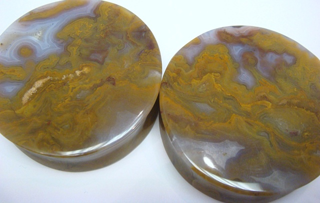 Yellow Moss Agate