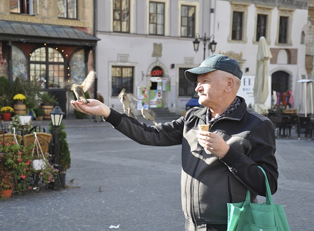 Bird Whisperer, Old Town, Warsaw