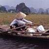 Elderly woman in Vietnam