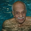 Nonagenarian swimmer
