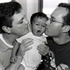 Jeff and Jim with their son