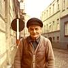 German man on street