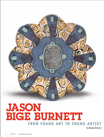 Jason Bige Burnett: From Found Art To Found Artist