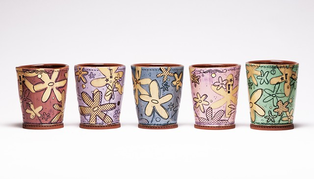 Paper Flower Cups