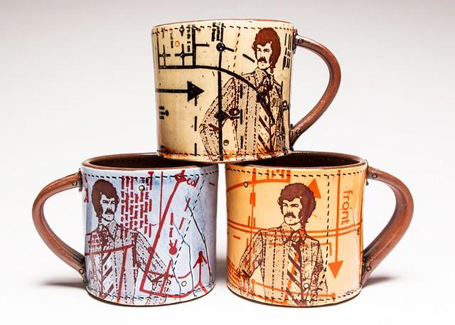 Sewing Man Mugs