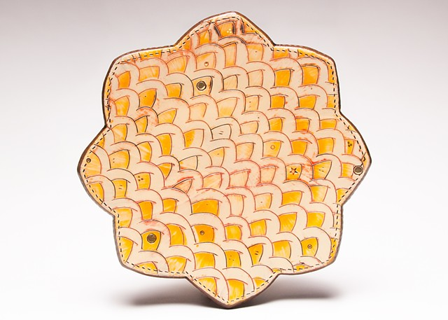 Confetti Curls Dinner Plate