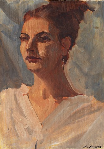 A Woman from Ancient Greece (Study)