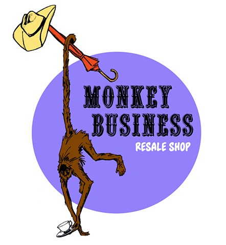Monkey Business Resale Shop Logo