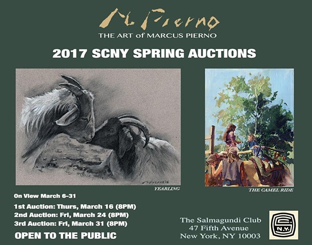 2017 SCNY SPRING AUCTIONS