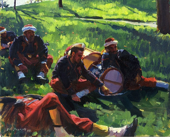 5th New York Zouaves, Marcus Pierno