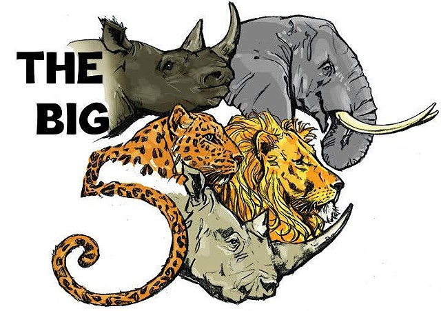 "The African ""Big 5"""