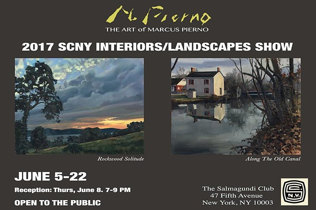 2017 SCNY Landscapes/Interiors Exhibition