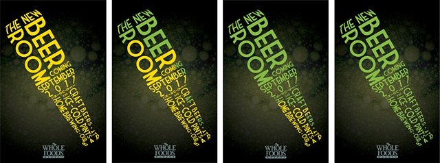 poster concept for Whole Foods Market Advertising campaign