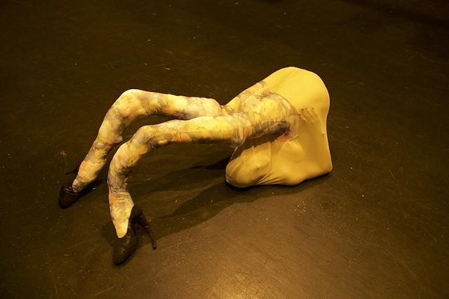 Upside-down Shoe Stocking Woman