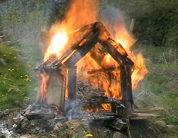 Burning Mirror video 2005