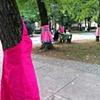 Tree Dresses Park Tabor, Ljubljana Oct - December 2011