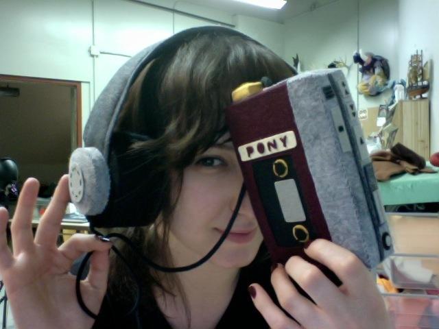 Pony Walkman & Headphones