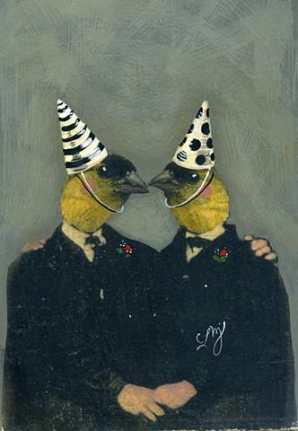 Ancestor #31: Lovebirds