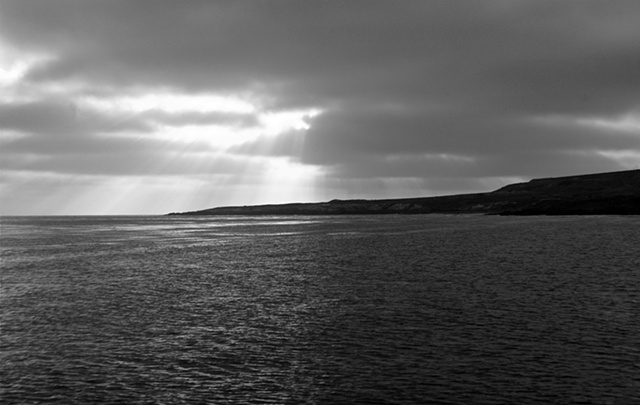Isla San Clemente at Dusk