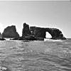 Isla Anacapa Looking West to Santa Cruz