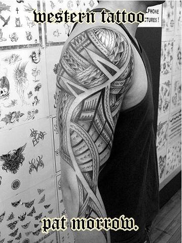 Pat Morrow - Western Tattoo, New Lynn,  Auckland