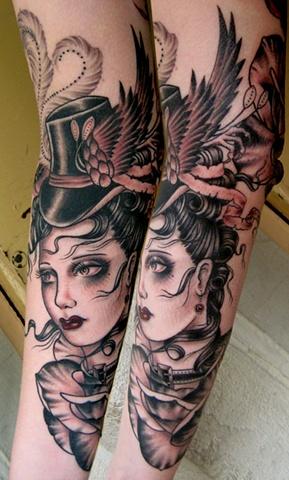 Rose- Chapel Tattoo, Melbourne, Australia