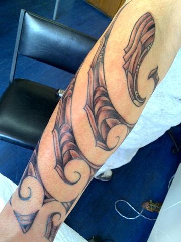 Lance Hadfield - Western Tattoo, New Lynn,  Auckland