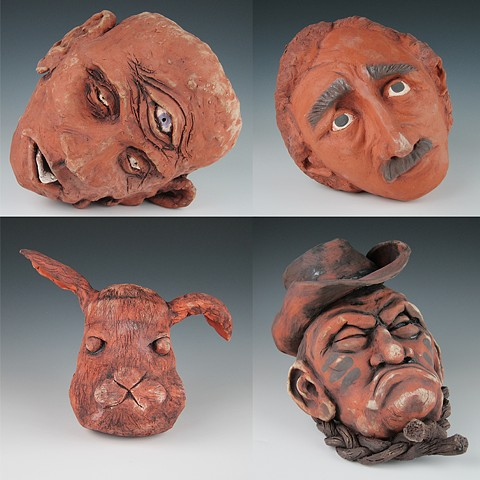 KCSF 220-Ceramics 1 Project 1: Terracotta Heads / Coil-Construction
