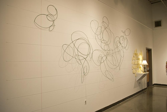 Scribble installation by Katrina Murray
