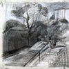 Untitled (Parkcrest Stairs)