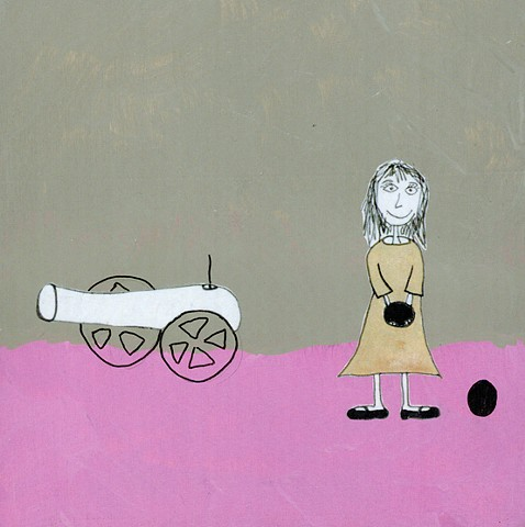 Shauna Oddleifson, Cannon, collage