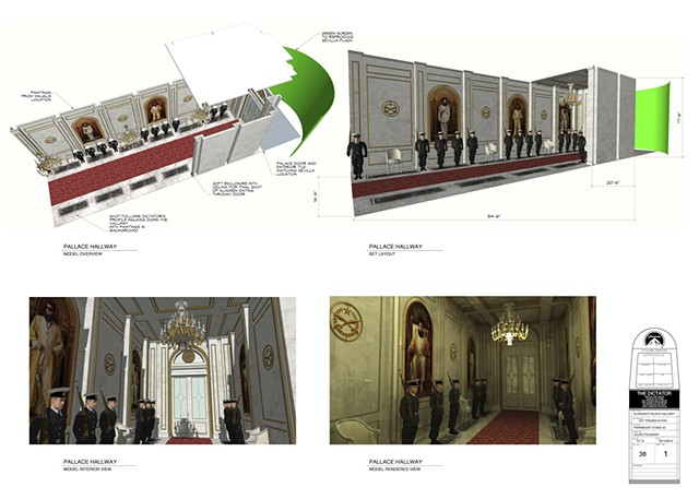 """The Dictator""  Set Designer"