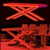"""Macbeth""  Preproduction Autocad 3d Design and built table"