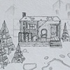 """""""Miracle on 34th Street""""   Pre-production drawing"""