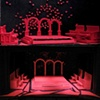 """""""Macbeth""""  Preproduction Scale Model and Built Set comparison"""