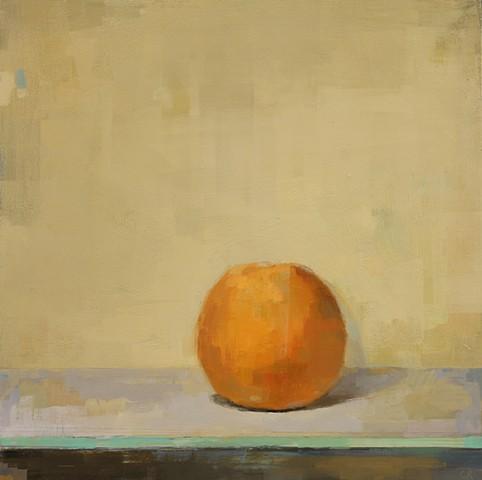Orange on Yellow