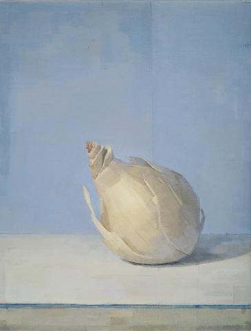 Onion on Blue