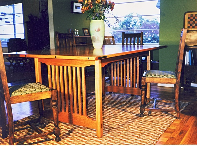 Craftsman dinning table